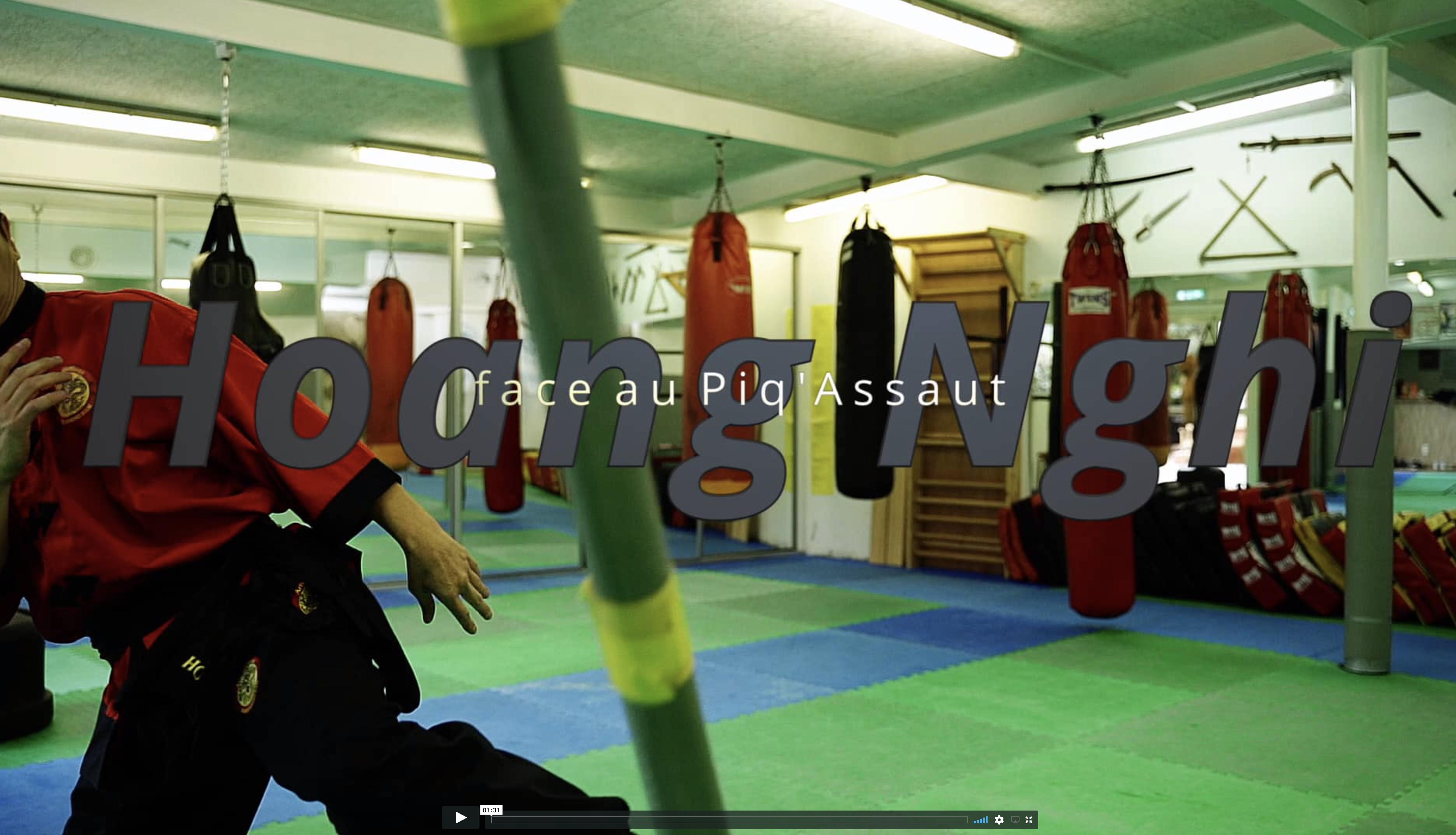 Témoignage Hoang Nghi  Kung fu